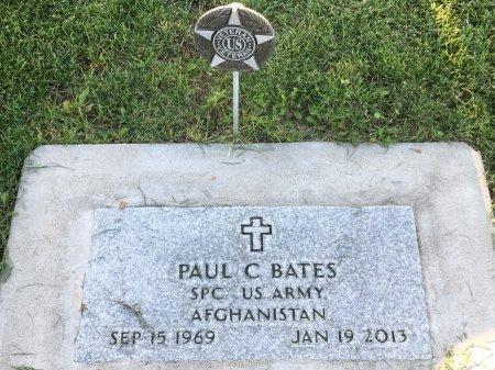 BATES, PAUL C - Dawes County, Nebraska | PAUL C BATES - Nebraska Gravestone Photos