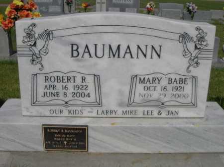 "BAUMANN, MARY ""BABE"" - Dawes County, Nebraska   MARY ""BABE"" BAUMANN - Nebraska Gravestone Photos"
