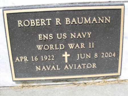 BAUMANN, ROBERT R. - Dawes County, Nebraska   ROBERT R. BAUMANN - Nebraska Gravestone Photos