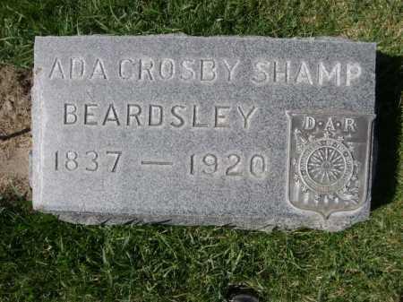 BEARDSLEY, ADA CROSBY SHAMP - Dawes County, Nebraska | ADA CROSBY SHAMP BEARDSLEY - Nebraska Gravestone Photos