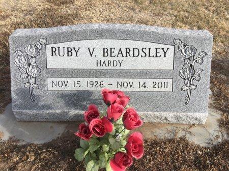 BEARDSLEY HARDY, RUBY V - Dawes County, Nebraska | RUBY V BEARDSLEY HARDY - Nebraska Gravestone Photos