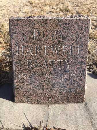 BEATTY, RUBY - Dawes County, Nebraska | RUBY BEATTY - Nebraska Gravestone Photos
