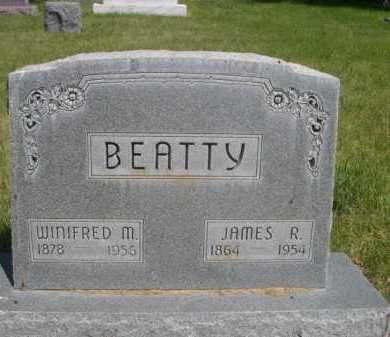 BEATTY, JAMES R. - Dawes County, Nebraska | JAMES R. BEATTY - Nebraska Gravestone Photos
