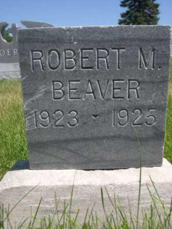 BEAVER, ROBERT M. - Dawes County, Nebraska | ROBERT M. BEAVER - Nebraska Gravestone Photos