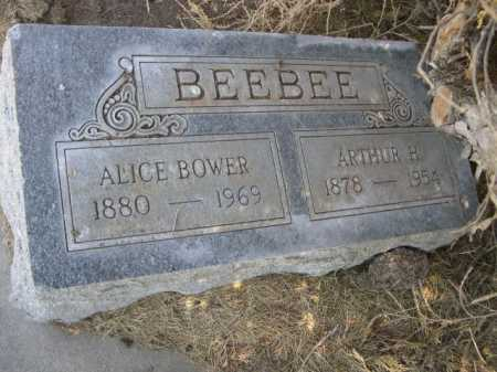 BEEBEE, ALICE - Dawes County, Nebraska | ALICE BEEBEE - Nebraska Gravestone Photos