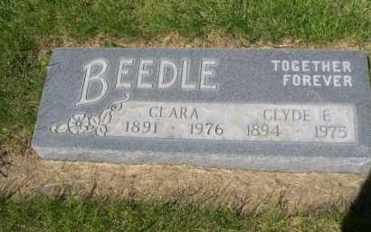 BEEDLE, CLYDE E. - Dawes County, Nebraska | CLYDE E. BEEDLE - Nebraska Gravestone Photos
