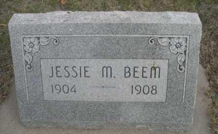 BEEM, JESSIE M. - Dawes County, Nebraska | JESSIE M. BEEM - Nebraska Gravestone Photos