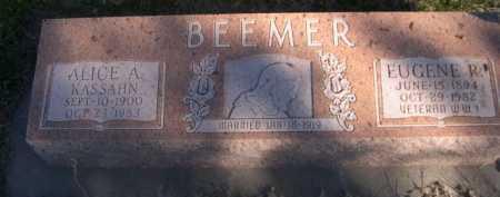 BEEMER, EUGENE R. - Dawes County, Nebraska   EUGENE R. BEEMER - Nebraska Gravestone Photos
