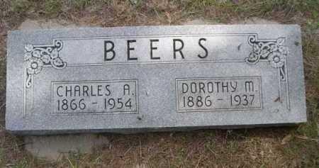 BEERS, DOROTHY M. - Dawes County, Nebraska   DOROTHY M. BEERS - Nebraska Gravestone Photos