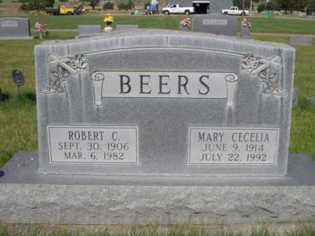 BEERS, MARY CECELIA - Dawes County, Nebraska | MARY CECELIA BEERS - Nebraska Gravestone Photos