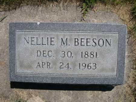 BEESON, NELLIE M. - Dawes County, Nebraska | NELLIE M. BEESON - Nebraska Gravestone Photos