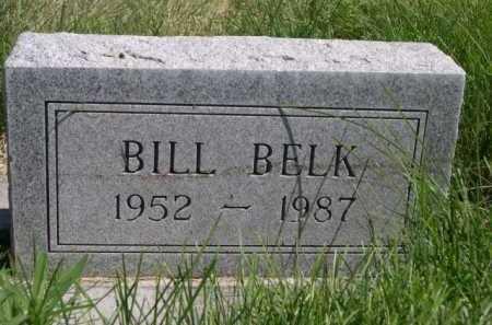 BELK, BILL - Dawes County, Nebraska | BILL BELK - Nebraska Gravestone Photos