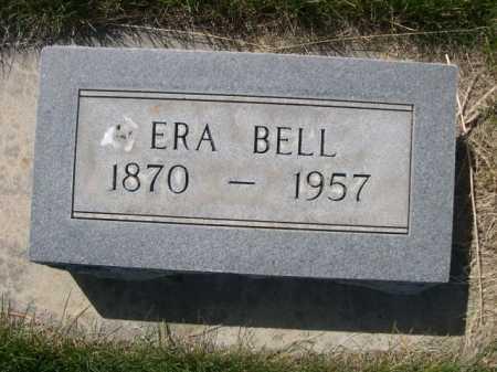 BELL, ERA - Dawes County, Nebraska   ERA BELL - Nebraska Gravestone Photos
