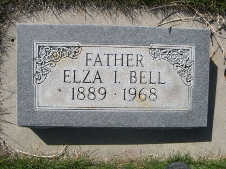 BELL, ELZA I. - Dawes County, Nebraska | ELZA I. BELL - Nebraska Gravestone Photos