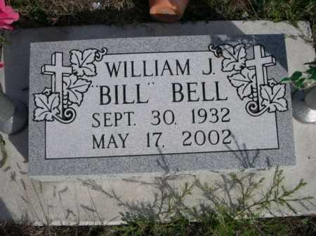 "BELL, WILLIAM J. ""BILL"" - Dawes County, Nebraska | WILLIAM J. ""BILL"" BELL - Nebraska Gravestone Photos"