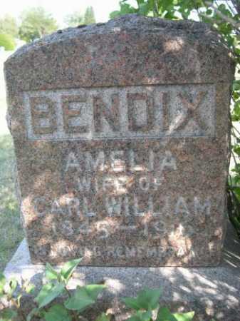 BENDIX, AMELIA - Dawes County, Nebraska | AMELIA BENDIX - Nebraska Gravestone Photos