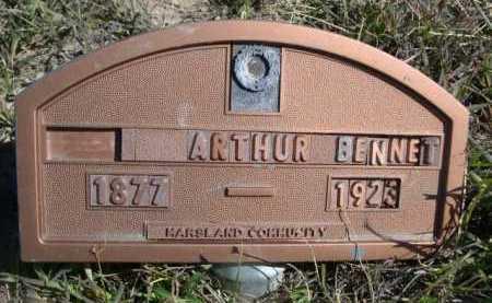 BENNET, ARTHUR - Dawes County, Nebraska | ARTHUR BENNET - Nebraska Gravestone Photos