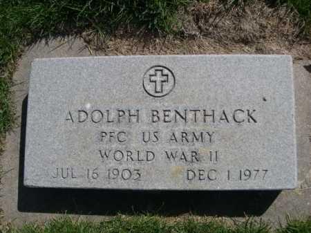 BENTHACK, ADOLPH - Dawes County, Nebraska | ADOLPH BENTHACK - Nebraska Gravestone Photos