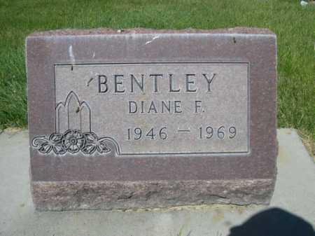 BENTLEY, DIANE F. - Dawes County, Nebraska | DIANE F. BENTLEY - Nebraska Gravestone Photos