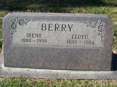 BERRY, IRENE - Dawes County, Nebraska | IRENE BERRY - Nebraska Gravestone Photos