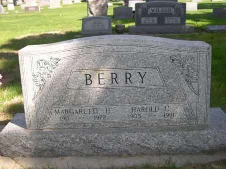 BERRY, MARGARETTE H. - Dawes County, Nebraska | MARGARETTE H. BERRY - Nebraska Gravestone Photos