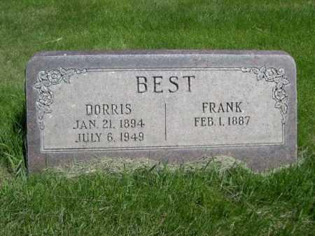 BEST, FRANK - Dawes County, Nebraska   FRANK BEST - Nebraska Gravestone Photos