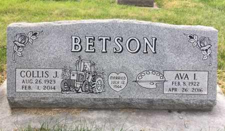 BETSON, COLLIS J. - Dawes County, Nebraska   COLLIS J. BETSON - Nebraska Gravestone Photos