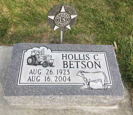BETSON, HOLLIS C. - Dawes County, Nebraska | HOLLIS C. BETSON - Nebraska Gravestone Photos