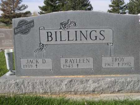 BILLINGS, RAYLEEN - Dawes County, Nebraska | RAYLEEN BILLINGS - Nebraska Gravestone Photos