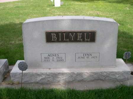 BILYEU, AGNES - Dawes County, Nebraska | AGNES BILYEU - Nebraska Gravestone Photos