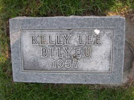 BILYEU, KELLY LEE - Dawes County, Nebraska   KELLY LEE BILYEU - Nebraska Gravestone Photos