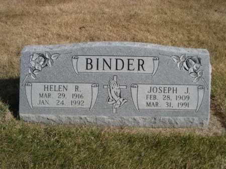BINDER, HELEN R. - Dawes County, Nebraska | HELEN R. BINDER - Nebraska Gravestone Photos