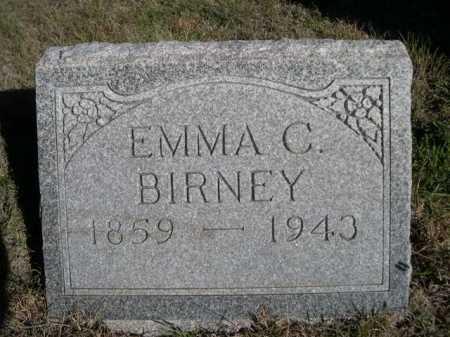 BIRNEY, EMMA C. - Dawes County, Nebraska | EMMA C. BIRNEY - Nebraska Gravestone Photos