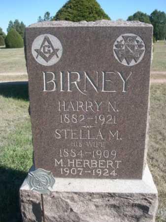 BIRNEY, M. HERBERT - Dawes County, Nebraska | M. HERBERT BIRNEY - Nebraska Gravestone Photos