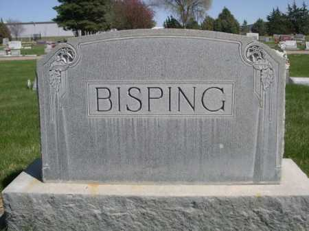 BISPING, FAMILY - Dawes County, Nebraska   FAMILY BISPING - Nebraska Gravestone Photos