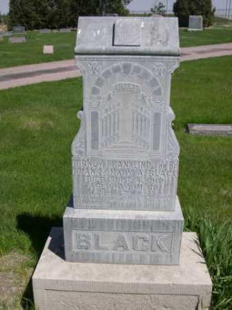 BLACK, DICKEY FRANKLIN - Dawes County, Nebraska | DICKEY FRANKLIN BLACK - Nebraska Gravestone Photos