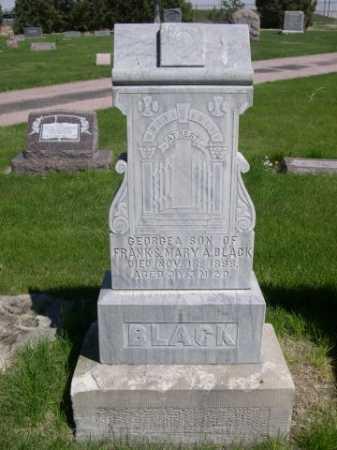 BLACK, GEORGE A. - Dawes County, Nebraska | GEORGE A. BLACK - Nebraska Gravestone Photos