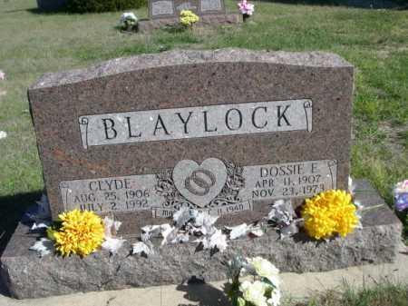 BLAYLOCK, DOSSIE E. - Dawes County, Nebraska   DOSSIE E. BLAYLOCK - Nebraska Gravestone Photos