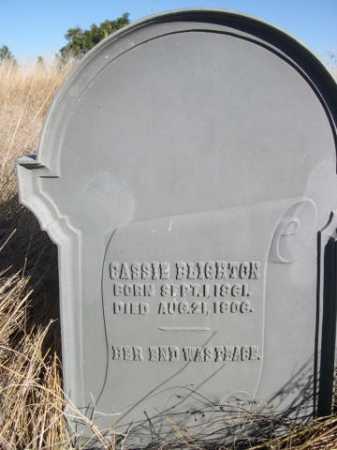 BLIGHTON, CASSIE - Dawes County, Nebraska | CASSIE BLIGHTON - Nebraska Gravestone Photos