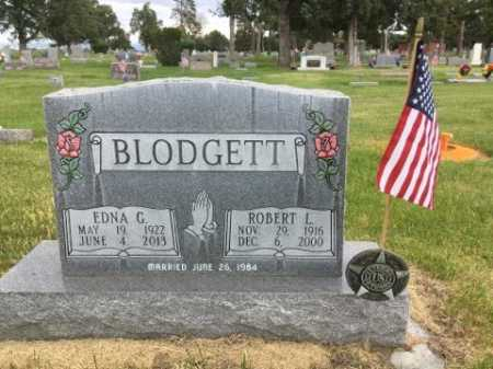 BLODGETT, EDNA G. - Dawes County, Nebraska | EDNA G. BLODGETT - Nebraska Gravestone Photos