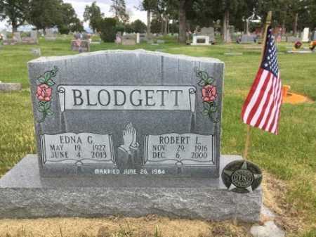 BLODGETT, ROBERT L. - Dawes County, Nebraska | ROBERT L. BLODGETT - Nebraska Gravestone Photos