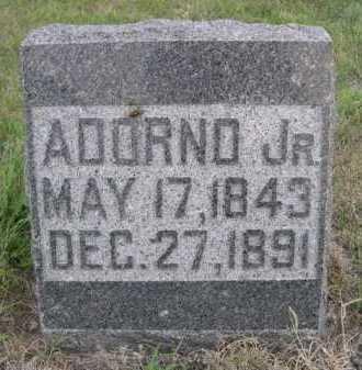 BLOOD, ADORNO JR. - Dawes County, Nebraska   ADORNO JR. BLOOD - Nebraska Gravestone Photos