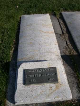 BLUNDELL, DOROTHY D.M. - Dawes County, Nebraska | DOROTHY D.M. BLUNDELL - Nebraska Gravestone Photos