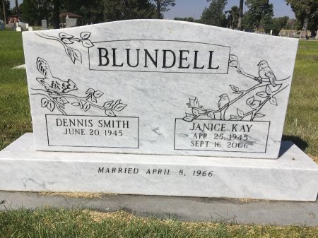 BLUNDELL, DENNIS SMITH - Dawes County, Nebraska | DENNIS SMITH BLUNDELL - Nebraska Gravestone Photos