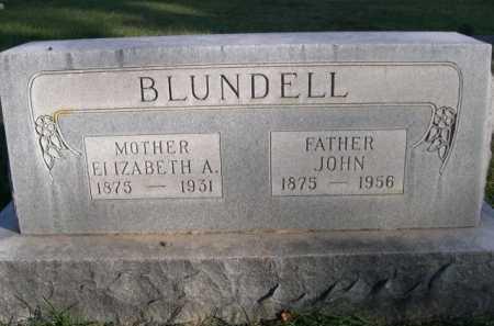 BLUNDELL, ELIZABETH A. - Dawes County, Nebraska | ELIZABETH A. BLUNDELL - Nebraska Gravestone Photos