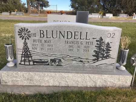 BLUNDELL, RUTH MAY - Dawes County, Nebraska   RUTH MAY BLUNDELL - Nebraska Gravestone Photos