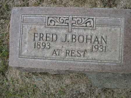 BOHAN, FRED J. - Dawes County, Nebraska   FRED J. BOHAN - Nebraska Gravestone Photos