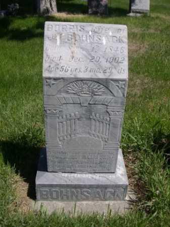 BOHNSACK, DORRIS - Dawes County, Nebraska | DORRIS BOHNSACK - Nebraska Gravestone Photos