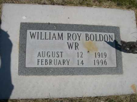 BOLDON, WILLIAM ROY - Dawes County, Nebraska   WILLIAM ROY BOLDON - Nebraska Gravestone Photos