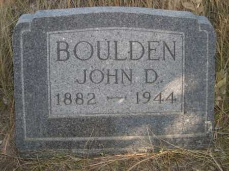 BOULDEN, JOHN D. - Dawes County, Nebraska   JOHN D. BOULDEN - Nebraska Gravestone Photos
